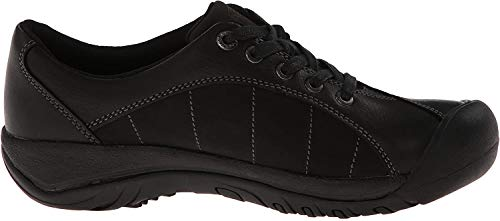 KEEN Women's Presidio Oxford,Black/Magnet,7 M US