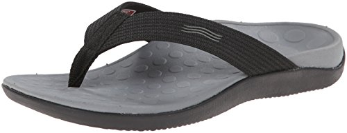 Vionic Unisex Wave Toe-Post Sandal - Flip-Flop with Concealed Orthotic Arch Support