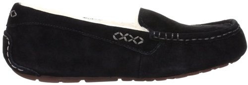 UGG Womens Ansley Black Moccasin - 9