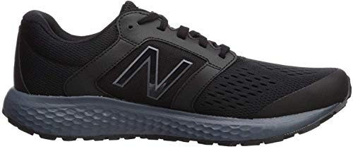 New Balance Men's 520 V5 Running Shoe, Black/Lead, 7.5 M US