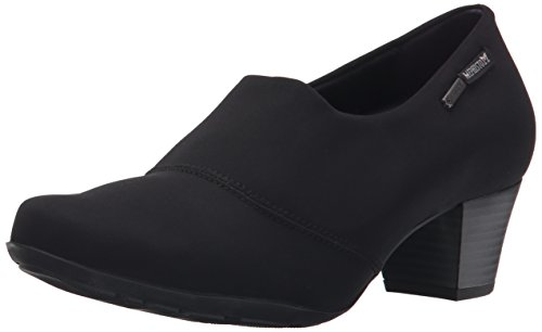 Mephisto Women's Mila Gt Dress Pump, Black Stretch, 8 M US