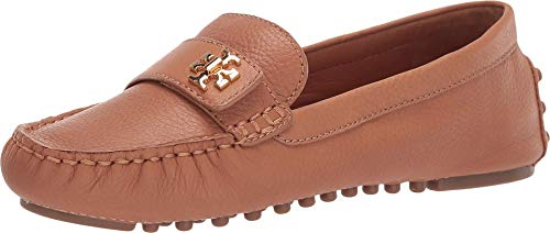 Tory Burch Women's Kira Tan Driving Leather Loafer (6.5 M US)