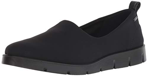 ECCO Women's Women's Bella Gore-TEX Slip On Sneaker, Black/Black, 37 M EU (6-6.5 US)