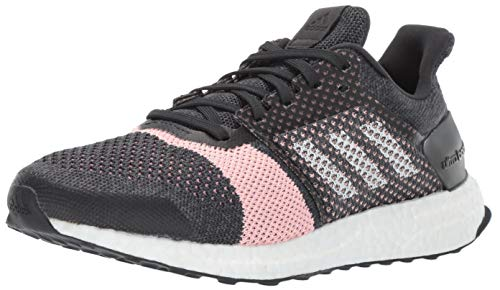 adidas Women's Ultraboost ST, Carbon/White/Grey, 4.5 M US