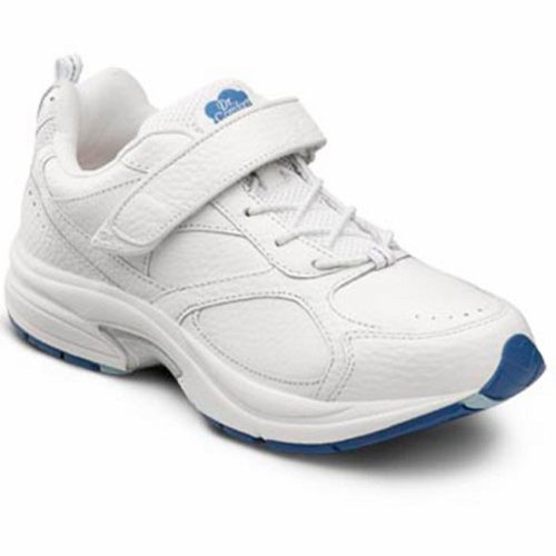 Dr. Comfort Women's Spirit White Diabetic Athletic Shoes