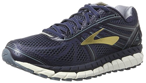 Brooks Men's Beast '16 Peacoat Navy/China Blue Gold Ankle-High Running Shoe - 8W