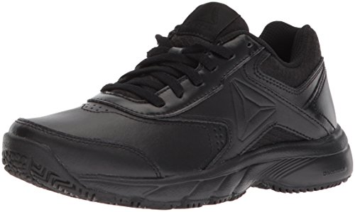 Reebok Women's Work N Cushion 3.0 Walking Shoe, Black, 6.5 M US