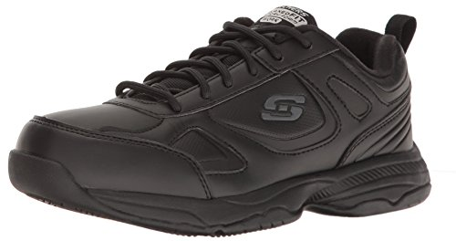 Skechers for Work Women's Dighton Bricelyn Work Shoe, Black, 8 M US