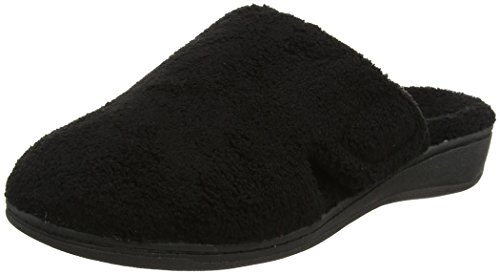Orthaheel Gemma Orthotic Slipper Black, 8