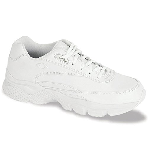 Apex Women's X826W Athletic Walking Shoe,White,9 W US