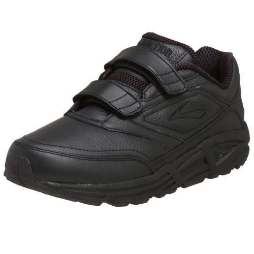 Brooks Men's Addiction, Black, 7.5 D - Medium