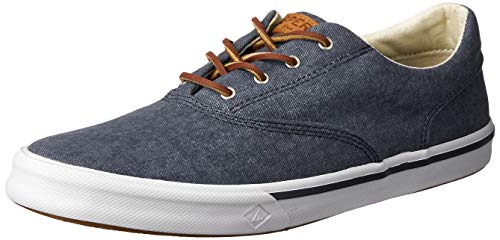 Sperry Mens Striper II CVO Sneaker, Navy, 10.5