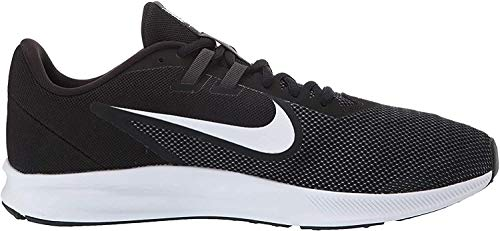 Nike Men's Downshifter 9 Running Shoe, black/white - anthracite - cool grey, 7 Regular US