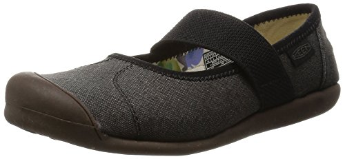 KEEN Women's Sienna MJ Canvas Mary Jane, New Black, 9 M US