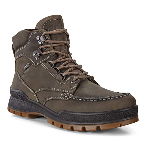 ECCO Men's Track 25 Gore-Tex Mid Hiking Boot, Tarmac/Primaloft G, 40 M EU (6-6.5 US)