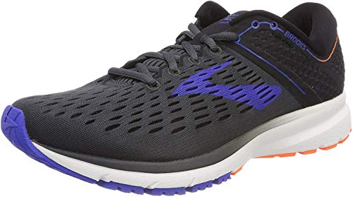 Brooks Ravenna 9 Men's Running 10 D(M) US Ebony-Blue-Orange