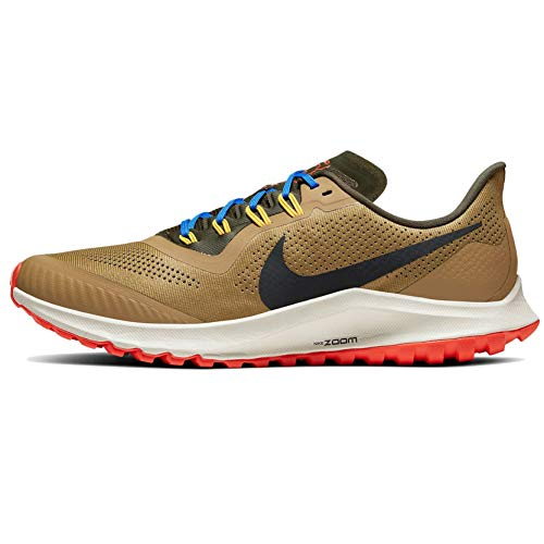 Nike Air Zoom Pegasus 36 Trail Men's Trail Running Shoe BEECHTREE/Off Noir-Cargo Khaki Size 7.5