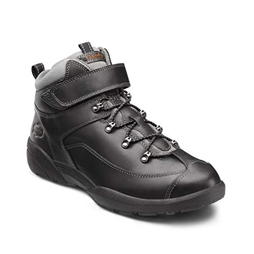 Dr. Comfort Ranger Men's Therapeutic Diabetic Extra Depth Hiking Boot: Black 6 Medium (B/D) Lace