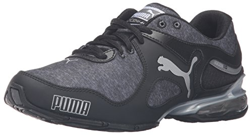 PUMA Women's Cell Riaze Heather Cross-Trainer Shoe, Steel Gray/Drizzle/Bay, 5.5 M US