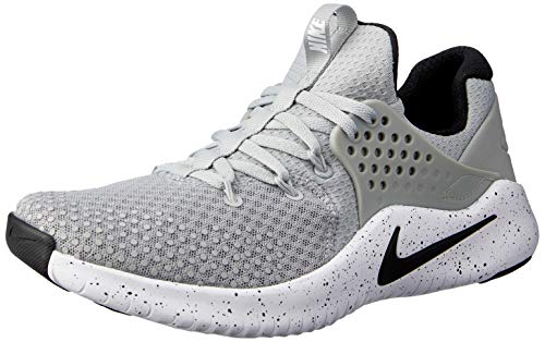 Nike Men's Free TR V8 Training Shoe Matte Silver/Black/White Size 10 M US