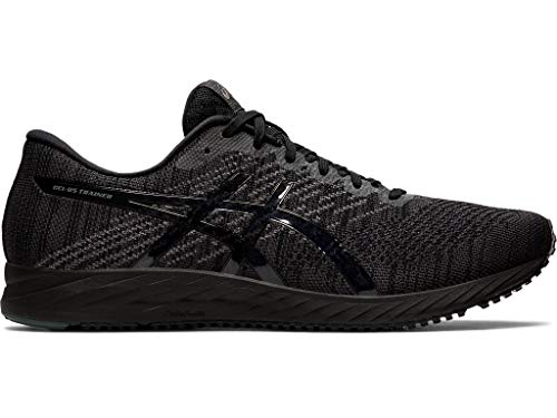 ASICS Men's Gel-DS Trainer 24 Running Shoes, 9.5M, Black/Black