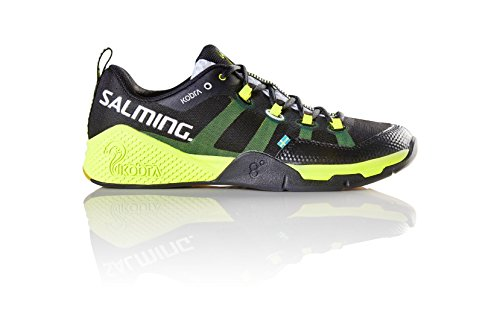 Salming Kobra Mens Indoor Court Shoe (Black/Yellow) (12.5)