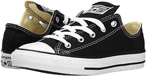 Converse Chuck Taylor All Star Low Top, Black/White, 9 Women/7 Men
