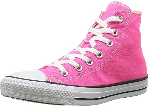 Converse Mens Chuck Taylor All Star Seasonal Color Hi, (Gun Metal/White, 3)