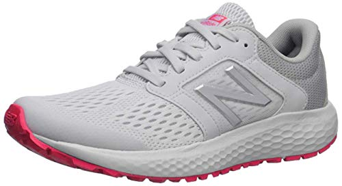 New Balance Women's 520 V5 Running Shoe, Summer Fog/Guava/Team Away Grey, 8 M US