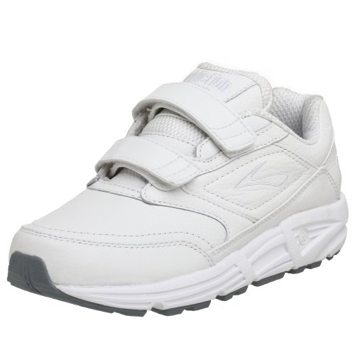 Brooks Women's Addiction, White, 6.5 D - Wide