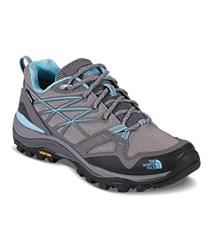 The North Face Women's Hedgehog Fastpack Gore-Tex - Dark Gull Grey & Fortuna Blue - 8.5