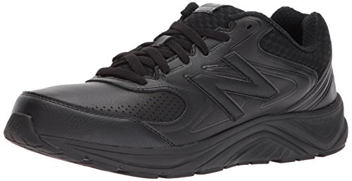 New Balance Men's MW840v2 Walking Shoe, Black/Black, 11.5 4E US