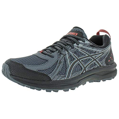 ASICS Women's Frequent Trail Running Shoes, 9M, Black/Piedmont Grey