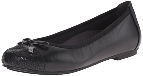 Vionic Women's Minna Ladies Ballet Flat with Concealed Orthotic Arch Support