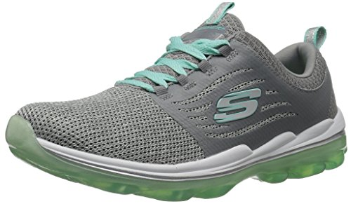 Skechers Sport Women's Skech Air Deluxe Sneaker,gray mint,5 M US