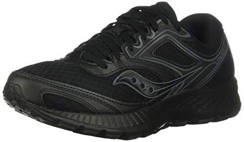 Saucony Women's VERSAFOAM Cohesion 12 Road Running Shoe, Slate/Violet, 11 M US