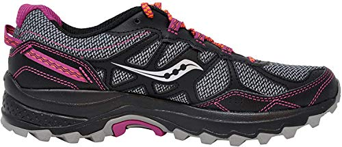 Saucony Women's Excursion Tr11 Running Shoes, Grey/Purple, 6.5 W US