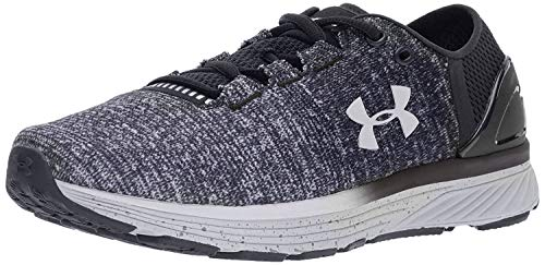 Under Armour Women's Charged Bandit 3 Running Shoe, Black (003)/White, 7