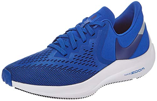 Nike Men's Air Zoom Winflo 6 Track & Field Shoes, Game Royal/Deep Royal Blue, 9.5