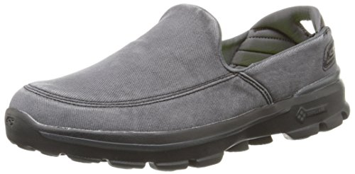 Skechers Performance Men's Go Walk 3 Unwind Slip-On Walking Shoe,Black,11 M US