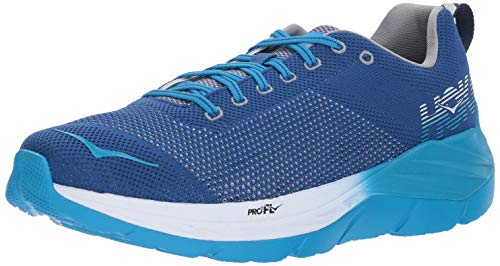 Hoka One Mach Mens Running-Shoes 1019279-TBBP_9.5 - True Blue/Blueprint