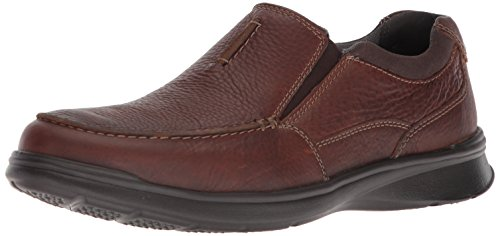 Clarks Men's Cotrell Free Loafer, Tobacco Leather, 10.5 Medium US