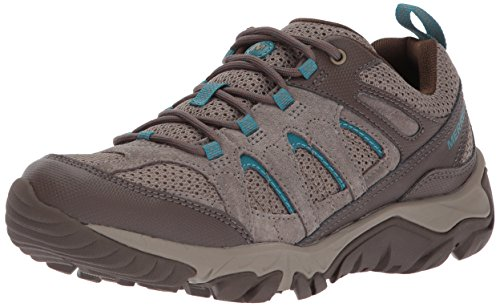 Merrell Women's Outmost Vent Hiking Boot, Boulder/Brown, 09.5 M US