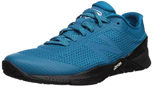 New Balance Men's 40v1 Minimus Cross Trainer, deep Ozone Blue/Black, 12 2E US