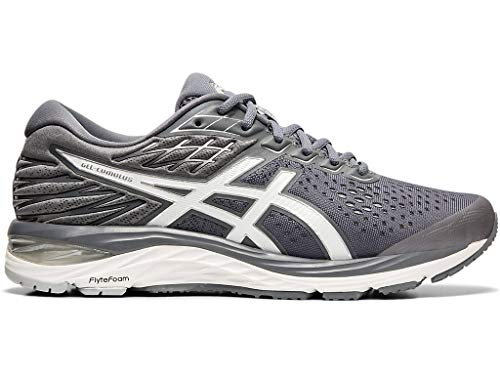 ASICS Men's Gel Cumulus 21 Running Shoes, 12XW, MetropolisWhite