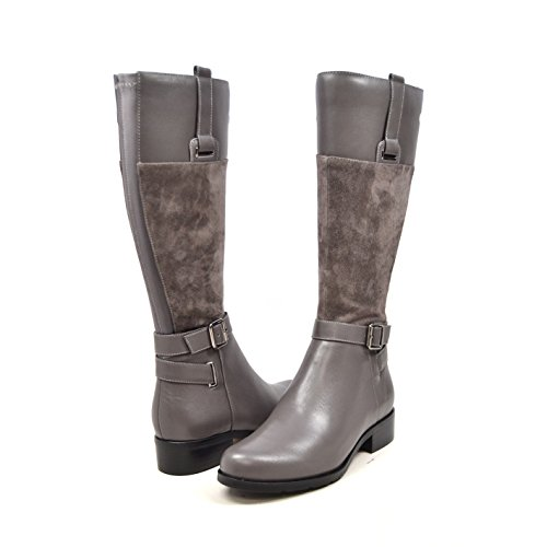 SoleMani Gabi 13' Slim Calf Women's Leather Boot 13'-14' Calf Size