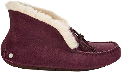 UGG Women's W ALENA Slipper, port, 8 M US