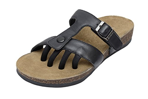 Wellrox Women's Santa Fee-Sedona Black Casual Sandal 6