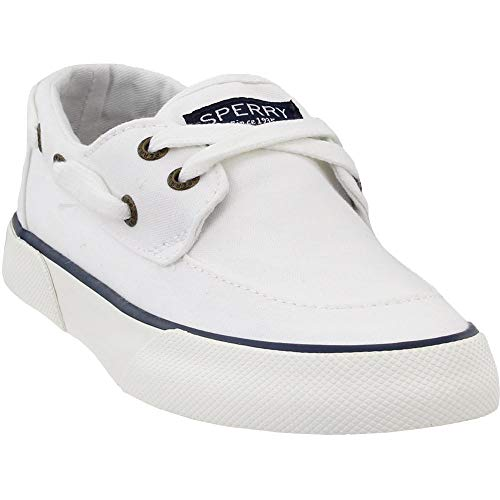 Sperry Womens Pier Boat Jewel Casual Sneakers, White, 6.5