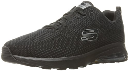 Skechers Sport Men's Skech Air Varsity Oxford,Black,13 M US